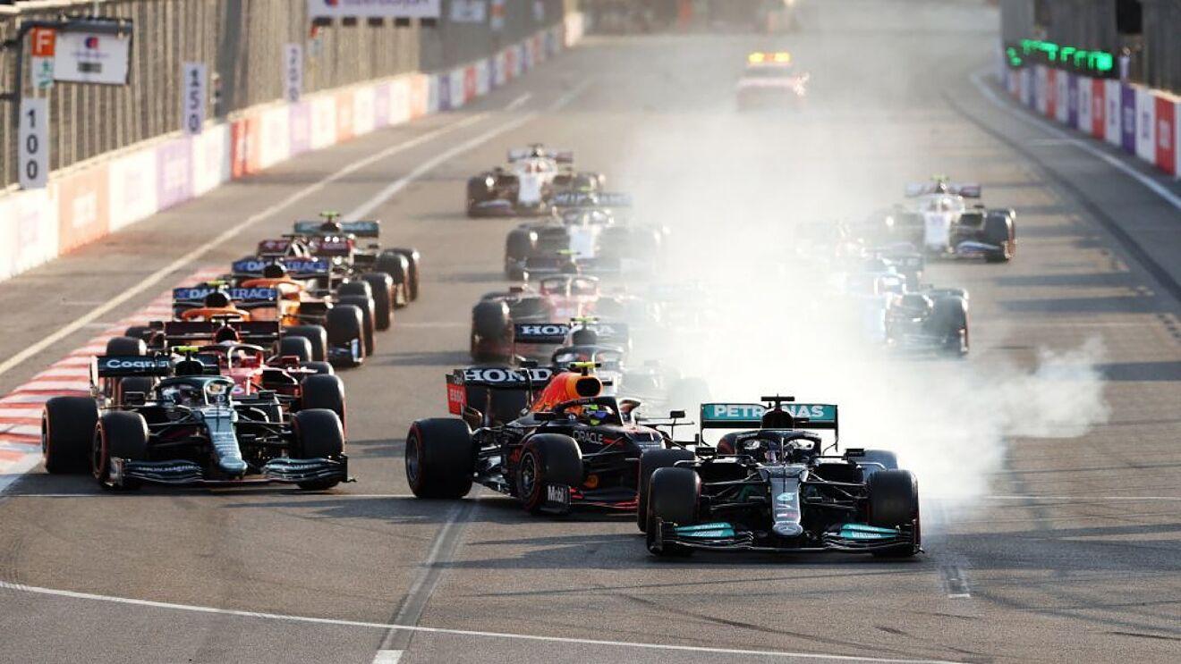 Kalendár F1 2021